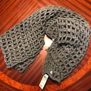 Lucky Brand Open Knit Scarf